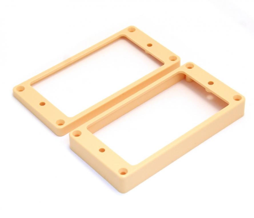 Humbucker frames flat crème - 2 stuks - Elementen en ...